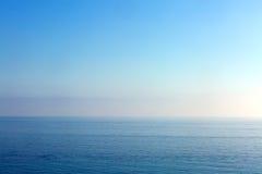 Θάλασσα και ουρανός Στοκ εικόνες με δικαίωμα ελεύθερης χρήσης