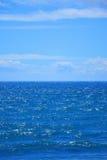 Θάλασσα και ουρανός Στοκ εικόνα με δικαίωμα ελεύθερης χρήσης