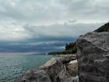 Θάλασσα και ουρανός Στοκ Φωτογραφίες