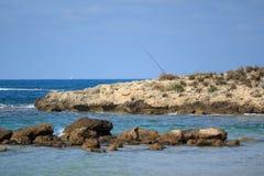 Θάλασσα και πέτρες Στοκ εικόνα με δικαίωμα ελεύθερης χρήσης