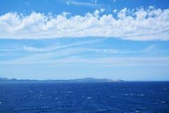 Θάλασσα και σμαραγδένια ακτή, Σαρδηνία Στοκ Φωτογραφίες