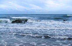 Θάλασσα, κύματα, αέρας Στοκ Εικόνες