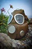 θάλασσα μασκών ατόμων αερίου Στοκ Εικόνα
