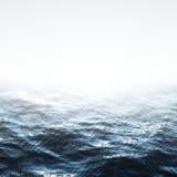 Θάλασσα με τα κύματα Στοκ Εικόνα