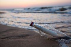 θάλασσα μπουκαλιών στοκ φωτογραφίες