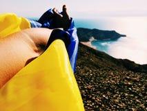 Θάλασσα Ουκρανία Στοκ φωτογραφίες με δικαίωμα ελεύθερης χρήσης