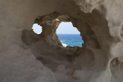 Θάλασσα πίσω Στοκ Φωτογραφίες