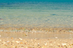 θάλασσα παραλιών τροπική Στοκ Εικόνες