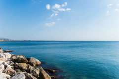 Θάλασσα παραλιών Batis Στοκ φωτογραφίες με δικαίωμα ελεύθερης χρήσης
