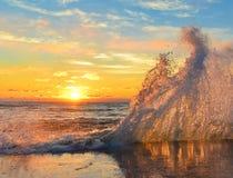 Θάλασσα πρωινού Στοκ εικόνα με δικαίωμα ελεύθερης χρήσης