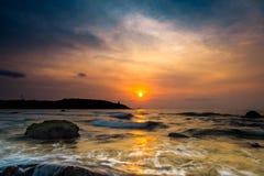 Θάλασσα πρωινού Στοκ φωτογραφία με δικαίωμα ελεύθερης χρήσης