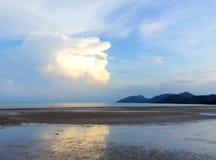 Θάλασσα στην Ταϊλάνδη, Koh yai Yao Στοκ φωτογραφία με δικαίωμα ελεύθερης χρήσης