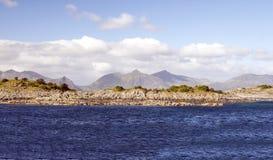 Θάλασσα στη βόρεια Νορβηγία Στοκ φωτογραφία με δικαίωμα ελεύθερης χρήσης
