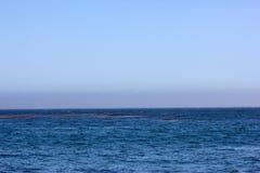 Θάλασσα στη φυσική παραλία Καλιφόρνια γεφυρών Στοκ Εικόνες