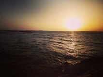 Θάλασσα στο Ισραήλ Στοκ φωτογραφία με δικαίωμα ελεύθερης χρήσης