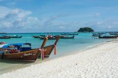 Θάλασσα στο νησί Lipe στην Ταϊλάνδη Στοκ Φωτογραφία