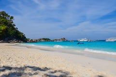 Θάλασσα Ταϊλάνδη Στοκ Φωτογραφίες