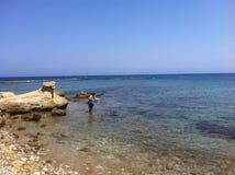 Θάλασσα της Κύπρου Στοκ φωτογραφίες με δικαίωμα ελεύθερης χρήσης
