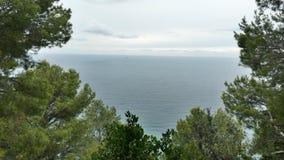 Θάλασσα της Λιγυρίας Στοκ Εικόνα