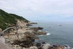 Θάλασσα της Νότιας Κίνας Στοκ φωτογραφία με δικαίωμα ελεύθερης χρήσης