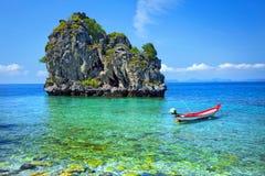 Θάλασσα της νότιας Ταϊλάνδης Στοκ Εικόνες
