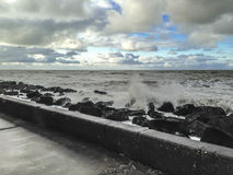 Θάλασσα της Ολλανδίας - γάντζος της Ολλανδίας στοκ φωτογραφία