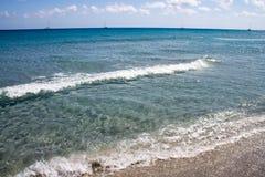 θάλασσα της Σαρδηνίας Στοκ φωτογραφία με δικαίωμα ελεύθερης χρήσης