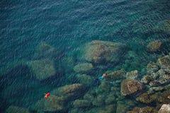 Θάλασσα της Σικελίας Στοκ Εικόνες