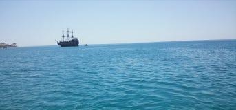 Θάλασσα της Τυνησίας Στοκ Εικόνες