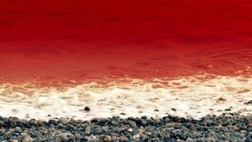Θάλασσα του αίματος απόθεμα βίντεο