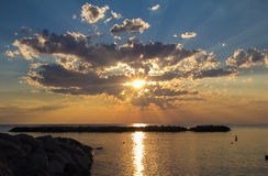 Θάλασσα του Πόρτο SAN Giorgio Στοκ φωτογραφίες με δικαίωμα ελεύθερης χρήσης