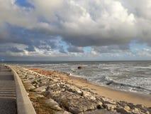 Θάλασσα του Φιγκέιρα ντα Φους Στοκ εικόνες με δικαίωμα ελεύθερης χρήσης