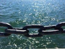 Θάλασσα των αλυσίδων στοκ εικόνα