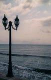 Θάλασσα φαναριών Στοκ εικόνα με δικαίωμα ελεύθερης χρήσης