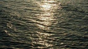 Θάλασσα φωτός του ήλιου απόθεμα βίντεο
