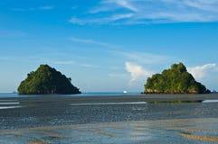 Θάλασσα Andaman, Aonang, επαρχία Ταϊλάνδη Krabi Στοκ φωτογραφία με δικαίωμα ελεύθερης χρήσης