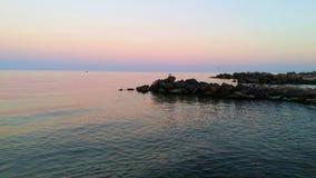 Θάλασσα Azov Στοκ φωτογραφία με δικαίωμα ελεύθερης χρήσης