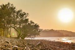 Θάλασσα Chumphon Στοκ Φωτογραφίες