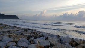 Θάλασσα Huahin Ταϊλάνδη Στοκ φωτογραφία με δικαίωμα ελεύθερης χρήσης