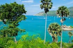 Θάλασσα lampromphep phuket Ταϊλάνδη Στοκ Εικόνες