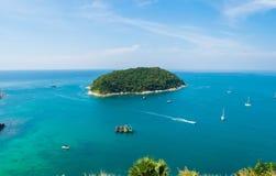 Θάλασσα lampromphep phuket Ταϊλάνδη Στοκ Φωτογραφίες