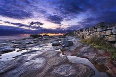 Θάλασσα Maroubra 02 τοίχος Στοκ φωτογραφία με δικαίωμα ελεύθερης χρήσης