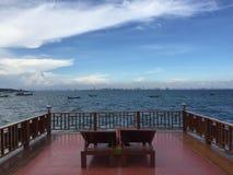 Θάλασσα Pattaya Στοκ φωτογραφία με δικαίωμα ελεύθερης χρήσης