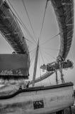 Θάλασσα Pescara bridget Στοκ Εικόνα