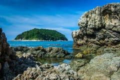 Θάλασσα phuket Ταϊλάνδη Στοκ Εικόνες