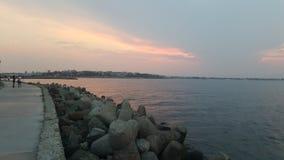 Θάλασσα promenad Στοκ φωτογραφία με δικαίωμα ελεύθερης χρήσης