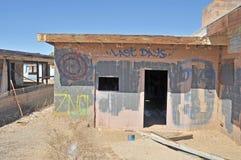 Θάλασσα Salton: Τελευταίες ημέρες στοκ φωτογραφία