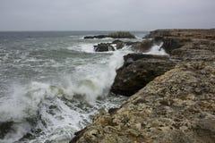 Θάλασσα Strormy Στοκ εικόνες με δικαίωμα ελεύθερης χρήσης