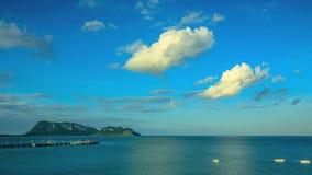 Θάλασσα TimeLapse Prajuabkirikhun απόθεμα βίντεο