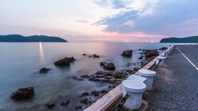 Θάλασσα twilight2 σιωπής στοκ φωτογραφίες με δικαίωμα ελεύθερης χρήσης